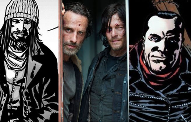 The Walking Dead Comic Stories For TV