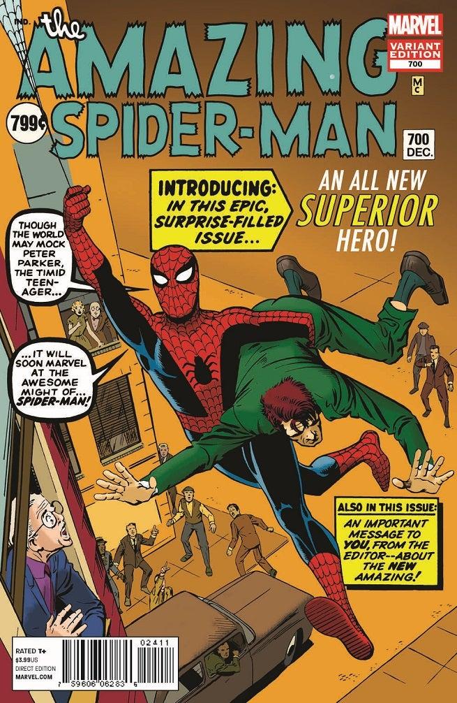 amazing spider-man vol 1 700 steve ditko variant