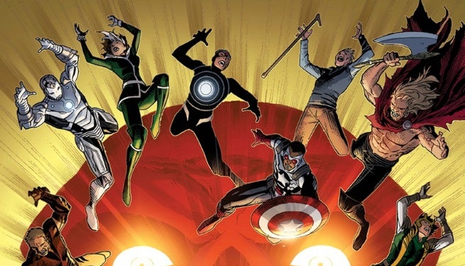 Avengers and X-Men AXIS 9 Cover