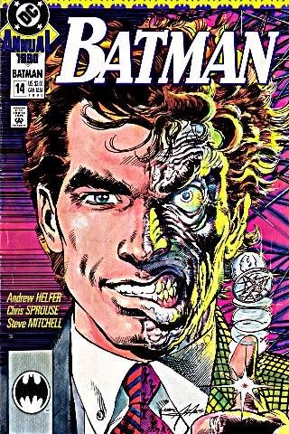 Batman Annual 14 cover