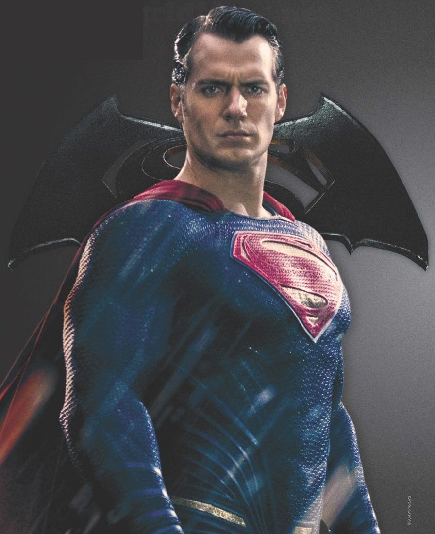 Batman V Superman's Henry Cavill Poses With Gillian Anderson, Chris Evans, Miles Teller