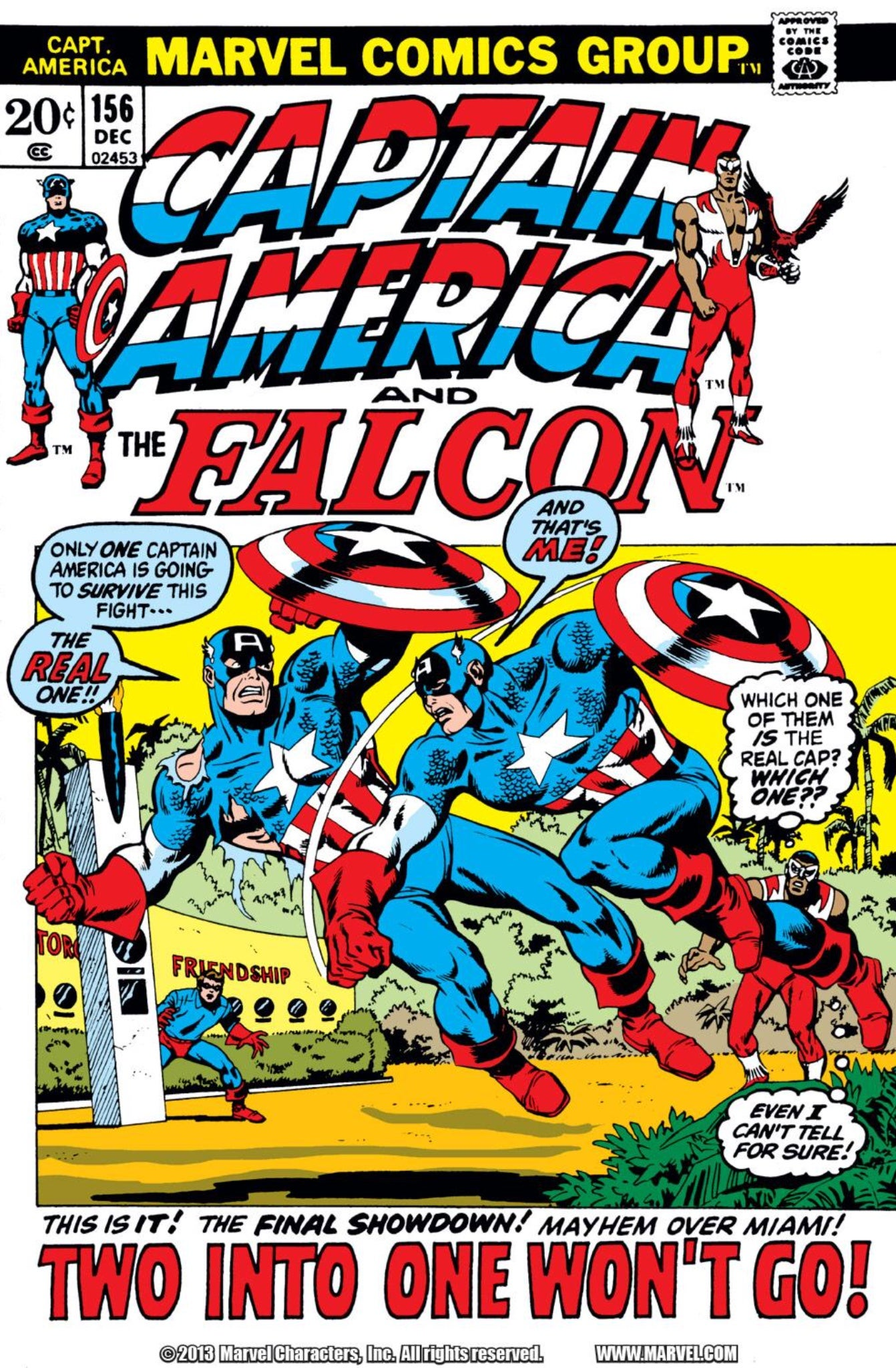 Captain America 156 cover