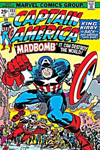 Captain America 193 cover