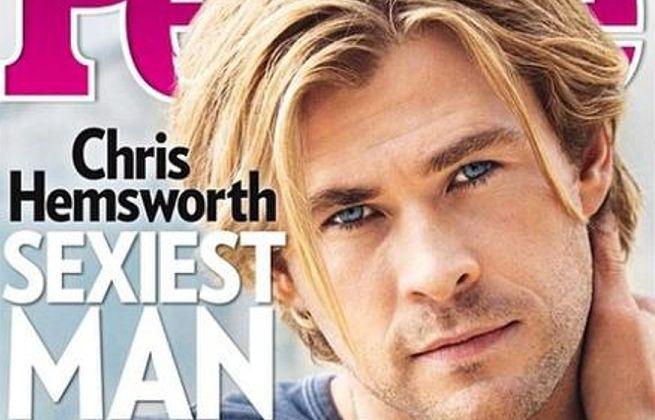Chris Hemsworth Sexiest Man Alive