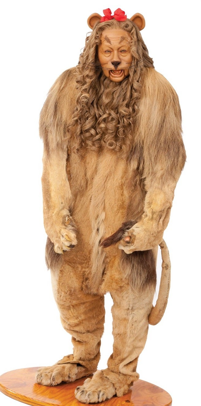 Cowardly Lion Costume Going Up For Auction