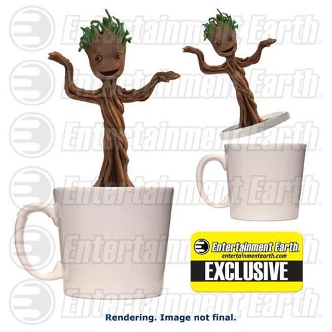 Dancing Baby Groot Cup