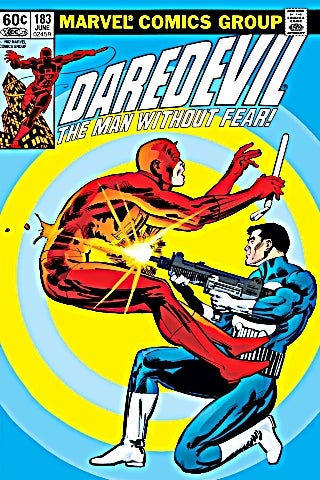Daredevil 182 cover