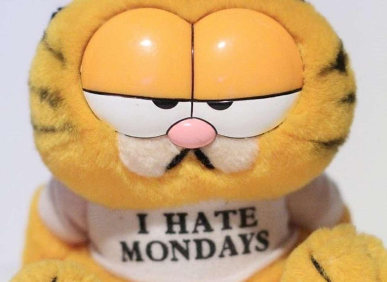 Garfield Creator Explains Why He Hates Mondays