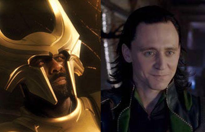 Heimdall & Loki