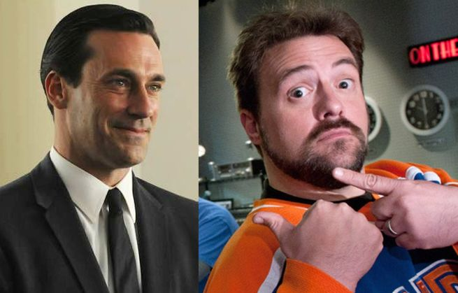 Kevin Smith & Jon Hamm