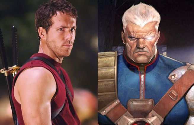 Ryan Reynolds Deadpool Cable