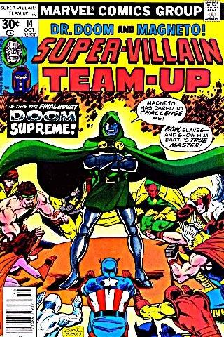 Super Villain Team Up 14 cover