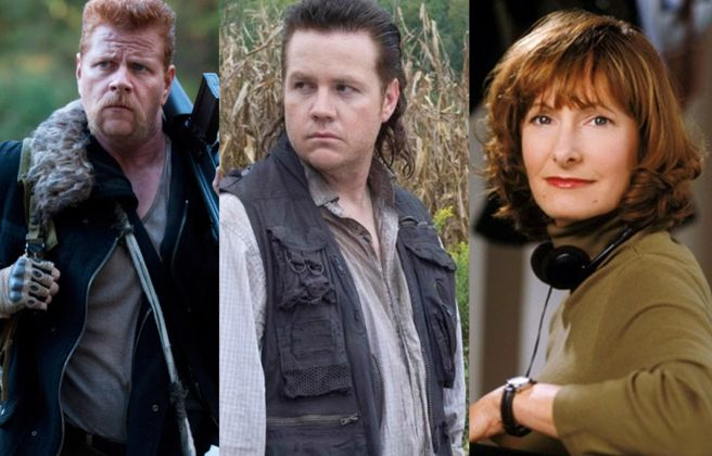 Talking Dead Michael Cudlitz, Josh McDermitt,Gale Anne Hurd