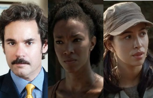 Talking Dead Paul F. Tompkins, Sonequa Martin-Green, Christian Serratos