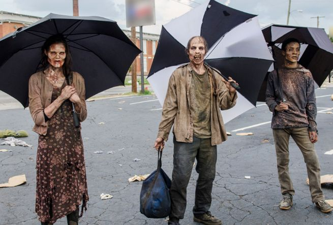 The Walking Dead Umbrellas