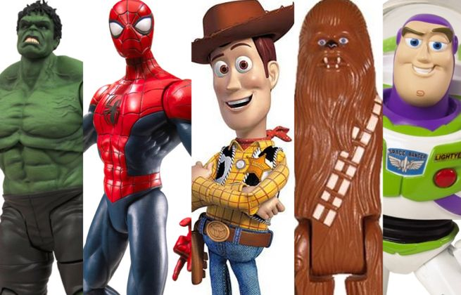 Toy Story 4 Avengers Star Wars Spider-Man