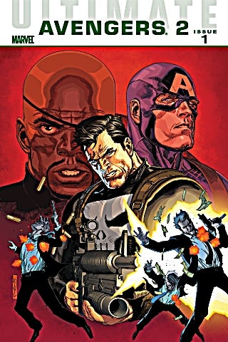 Ultimate Avengers 2 1 cover