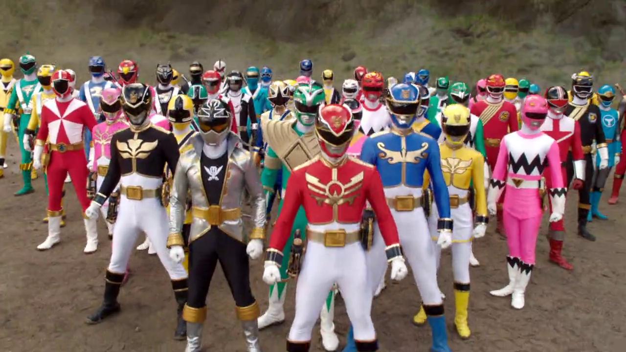 Various Power Rangers (Super Megaforce)