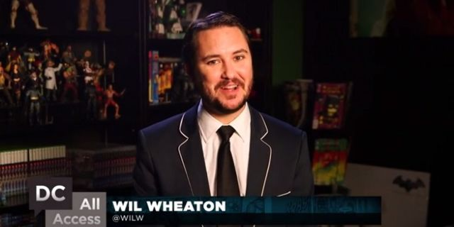 wil wheaton dc all access