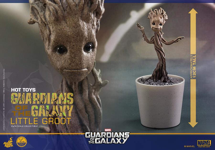 Guardians Of The Galaxy S Little Groot Collectible From Hot Toys Revealed