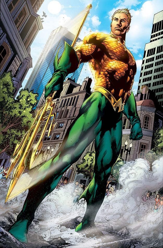 Aquaman issue 1, the new 52