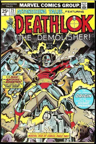 Astonishing Tales 25 Deathlok