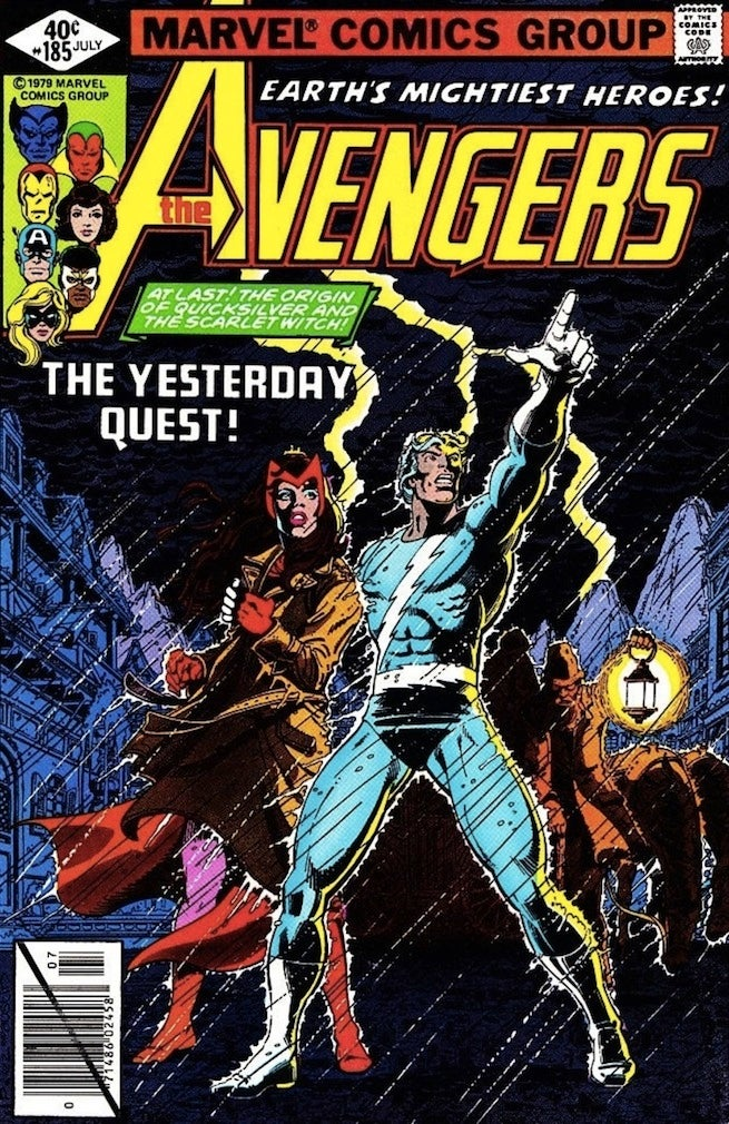 Avengers 185 cover