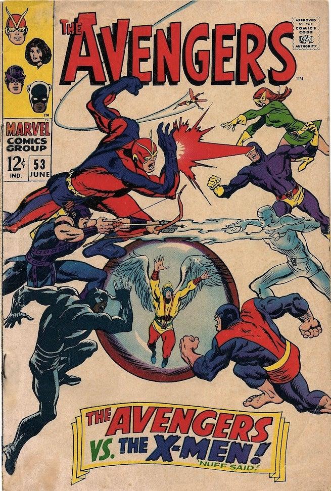 Avengers 53 cover
