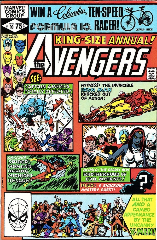 Avengers Annual 10 cover
