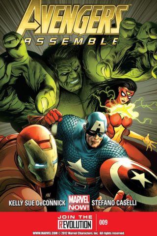 Avengers Assemble Science Bros