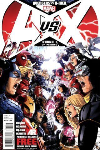 Avengers vs X-Men 1 cover