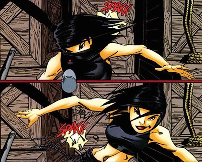 Batgirl III dodge2 h