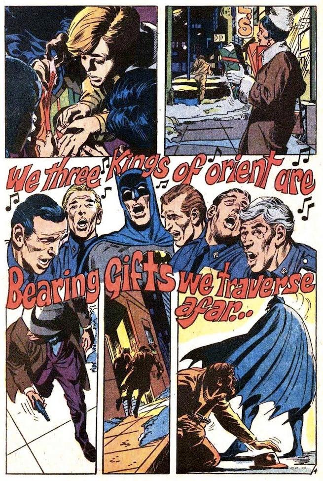 Batman 219 caroling