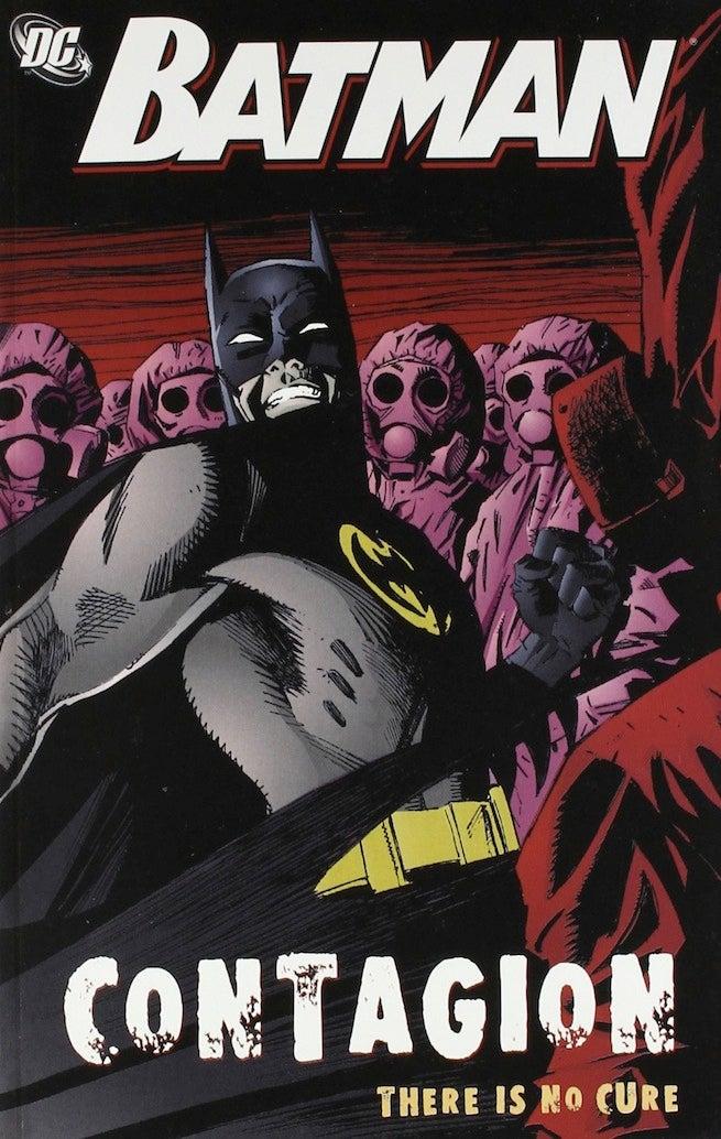 Batman contagion cover