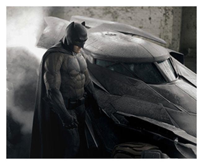 Batman Suit Color