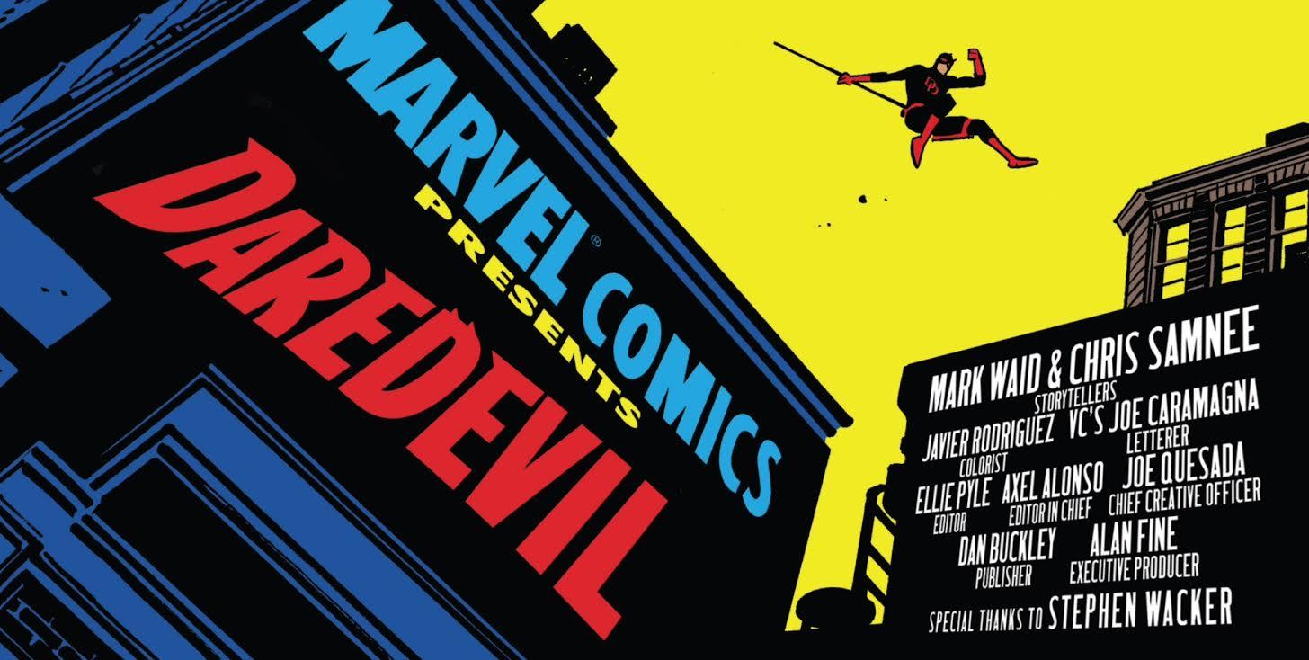 Best Comics of 2014 - Daredevil
