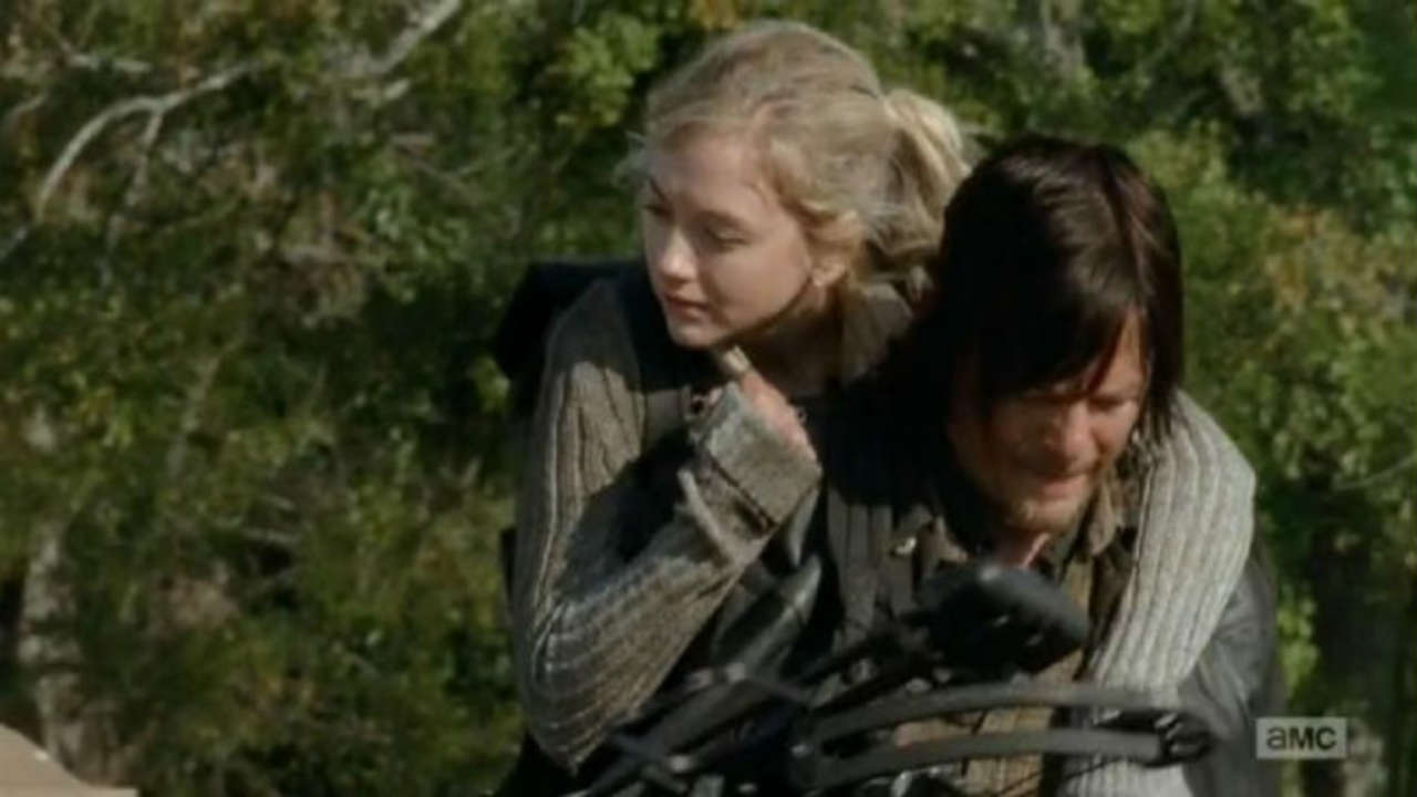 norman reedus answers if the walking dead s beth and daryl could