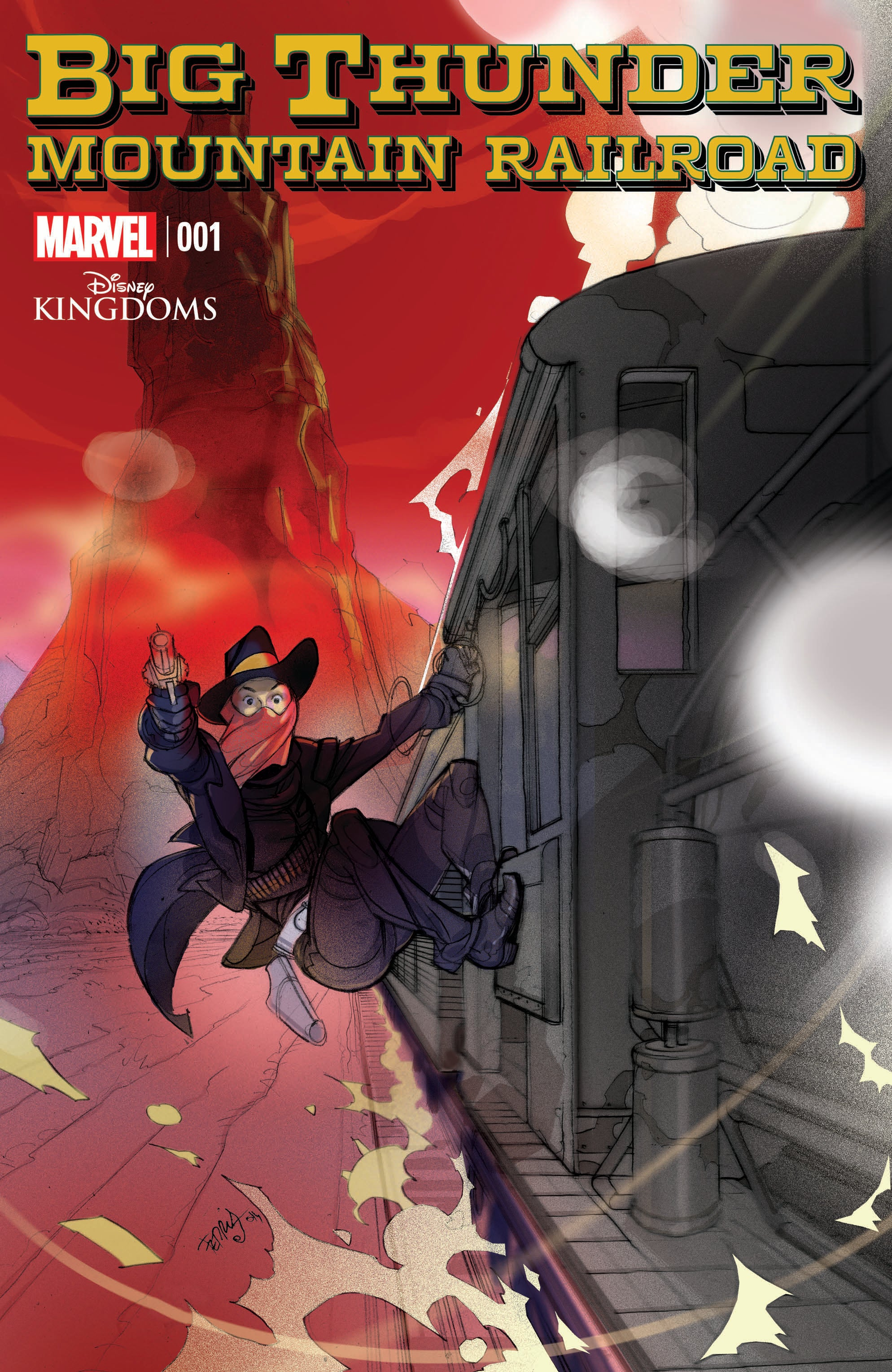 Big Thunder Mountain Railroad 1 Cover
