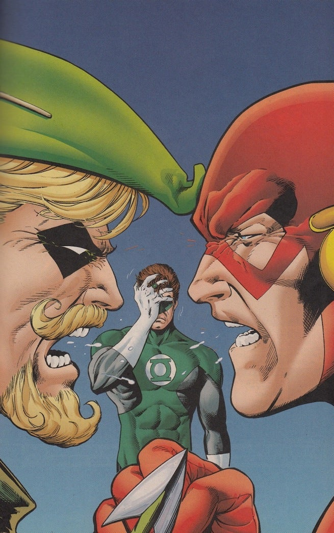 Brave and Bold Flash cover