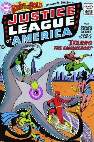 Brave and the Bold 28 cover
