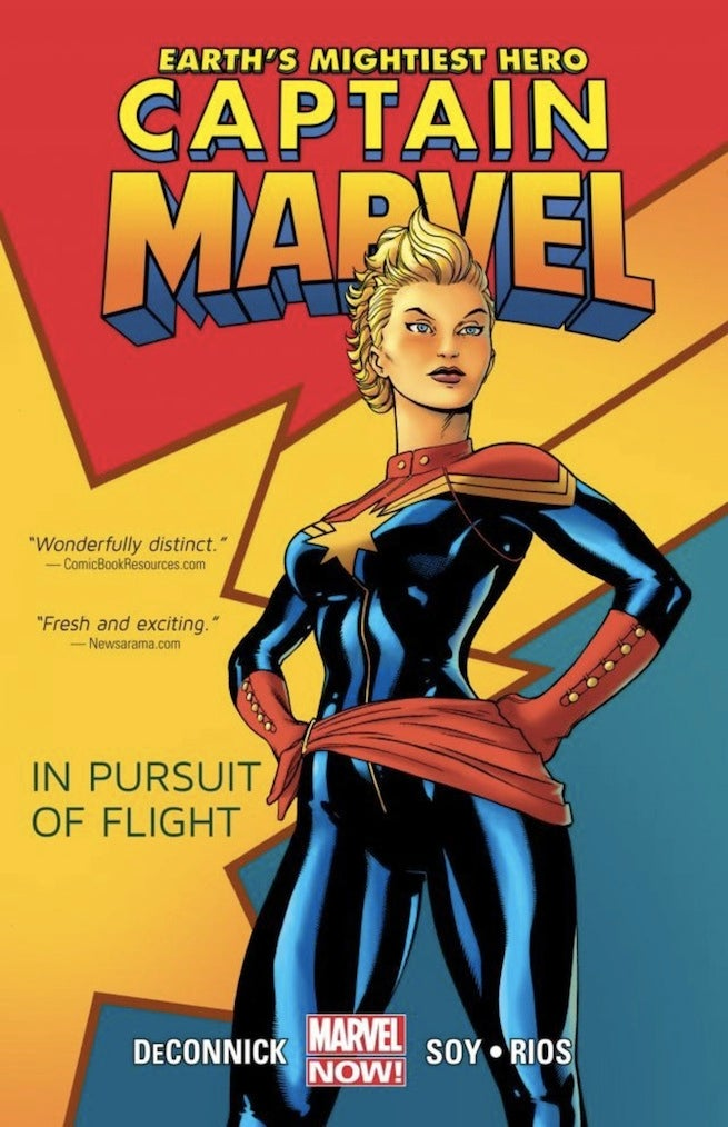 Captain Marvel Pursuit of Flight cover