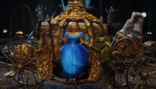 Disney's Cinderella Sneak Peek Premiering At Midnight