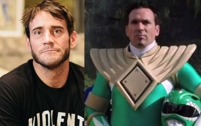 CM Punk Jason David Frank