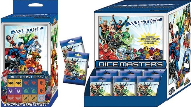 dc dice masters justice league