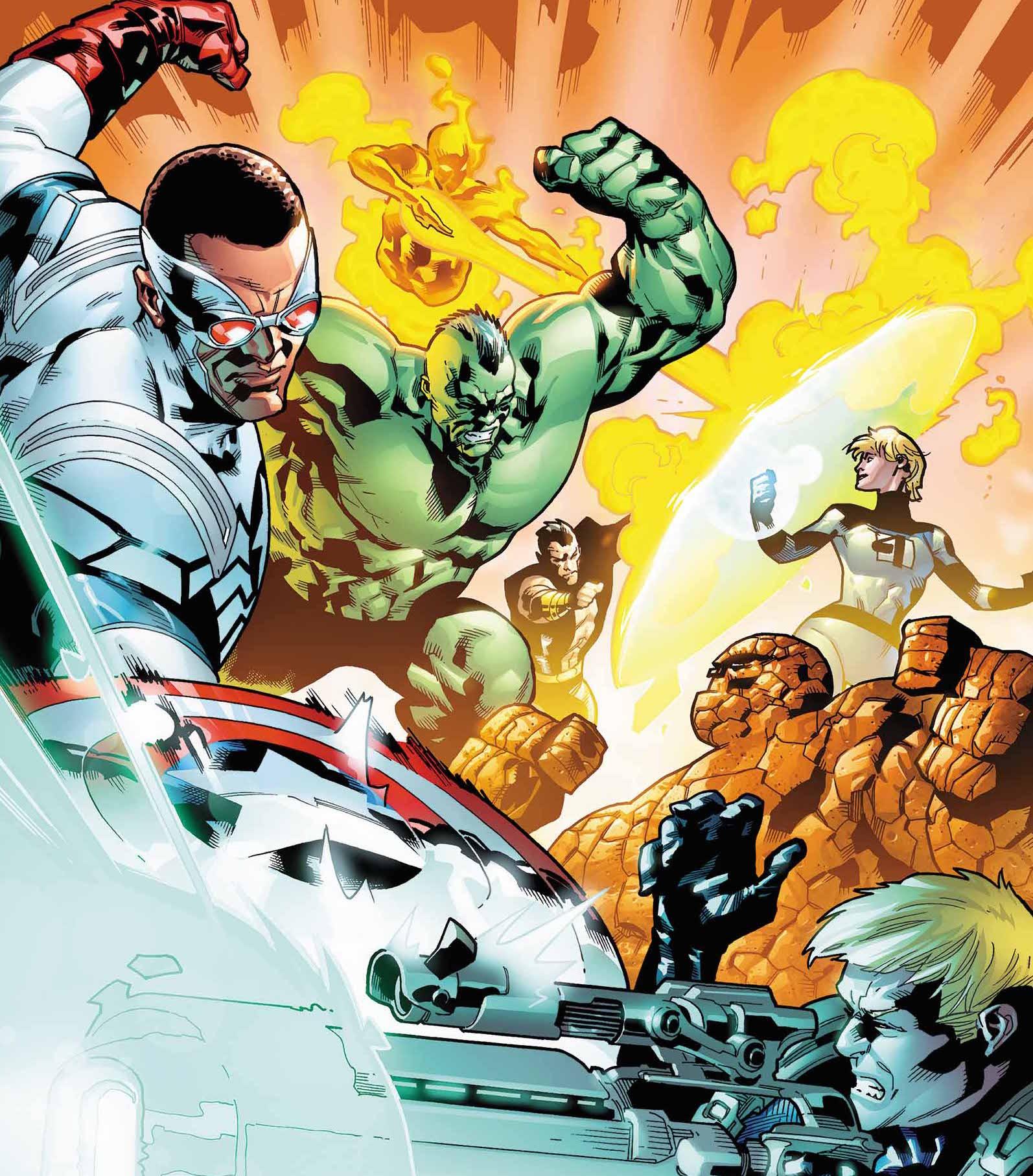 Fantastic Four 642 Cover