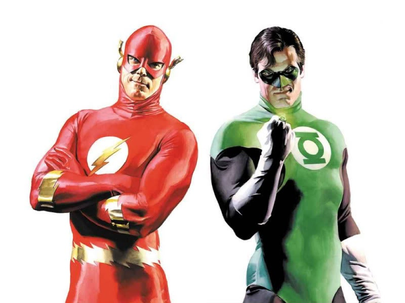 Flash/Green Lantern