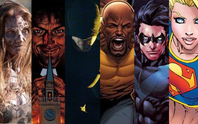 Future Comic Book TV Shows