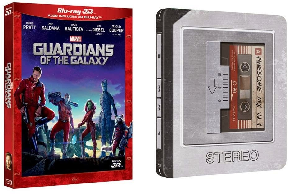 Guardians of the Galaxy Blu-ray 2