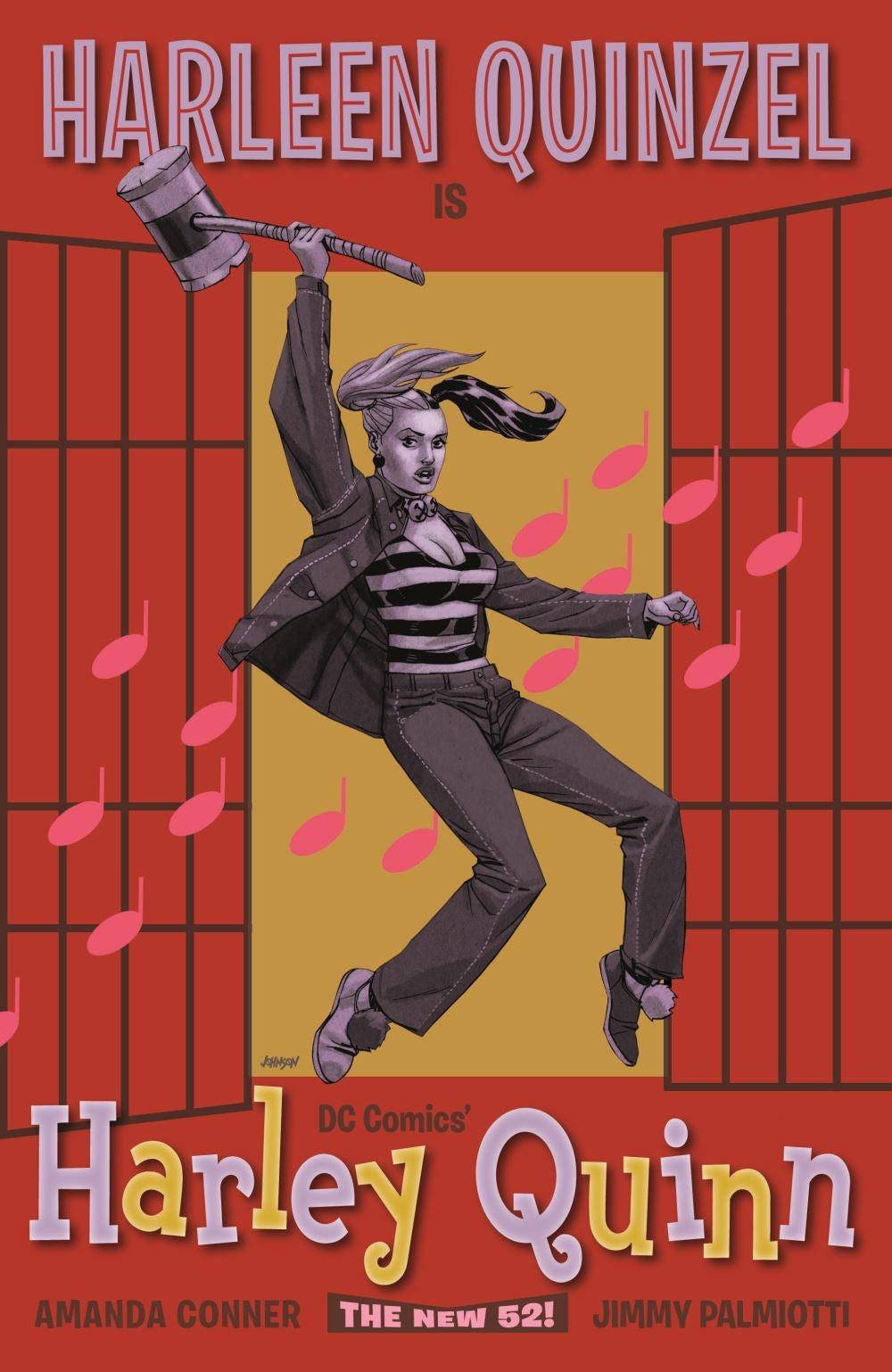 Harley-Quinn-Jailhouse-Rock-Comic-Cover
