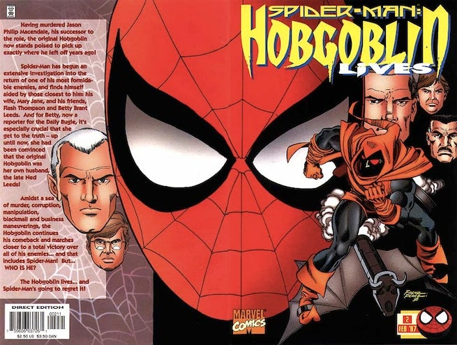 Hobgoblin Lives 2 cover